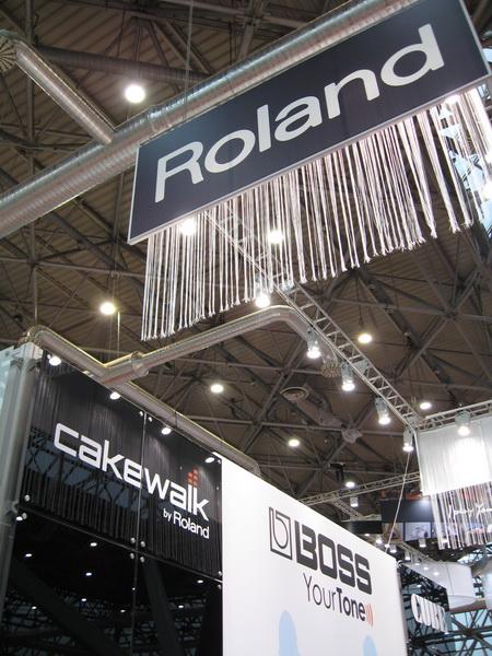 Roland 2012 NAMM Musikmesse 21